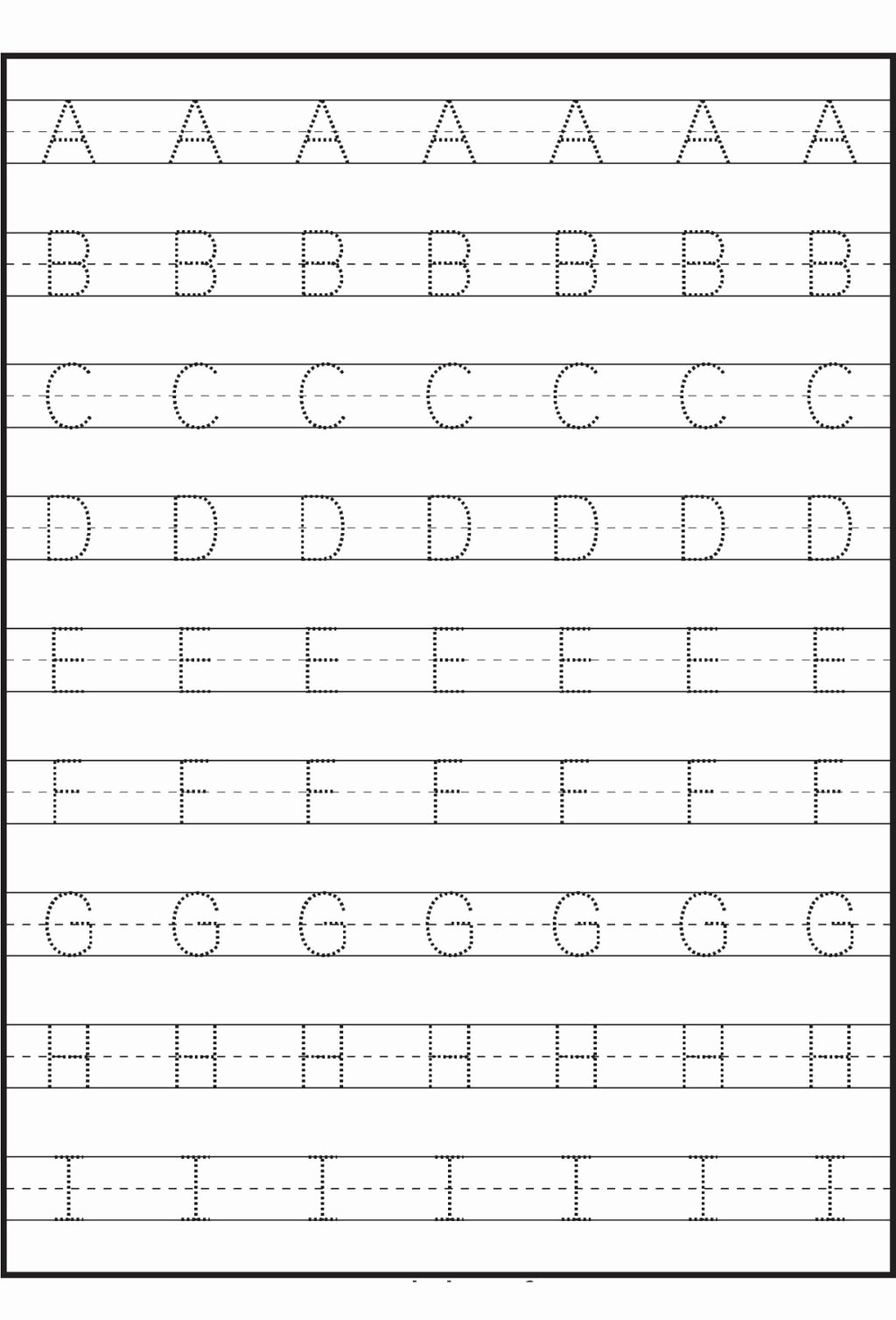 Abc Worksheets for Preschoolers New Worksheet Practice Writing Sheetsrintable Free for