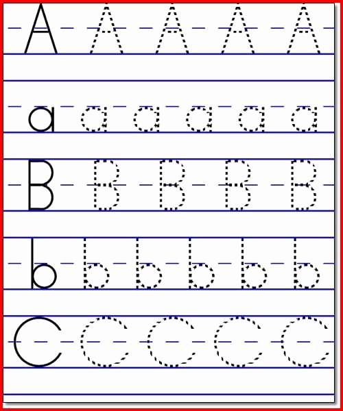 Abc Worksheets for Preschoolers Unique Collection Kindergarten Abc Worksheets Worksheet