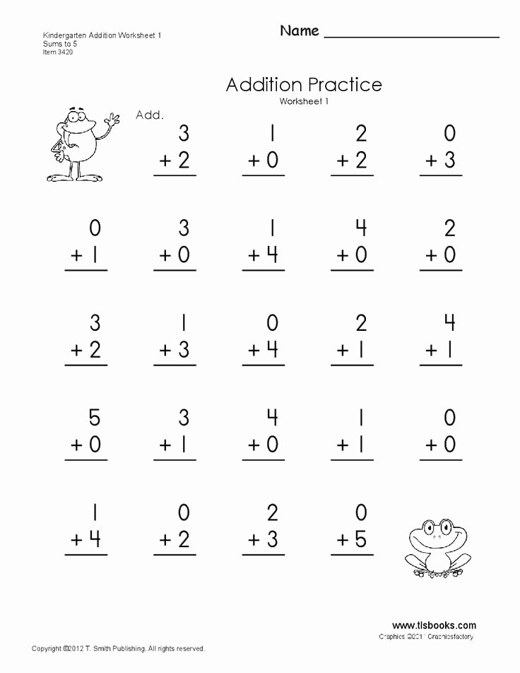 Addition and Subtraction Worksheets for Preschoolers Fresh Copy Addition Subtraction Numbers 1 10 Kinder Lessons