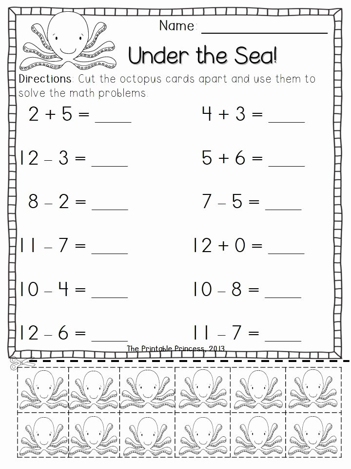 Addition and Subtraction Worksheets for Preschoolers Lovely Addition and Subtraction Worksheets with Counters Bundle