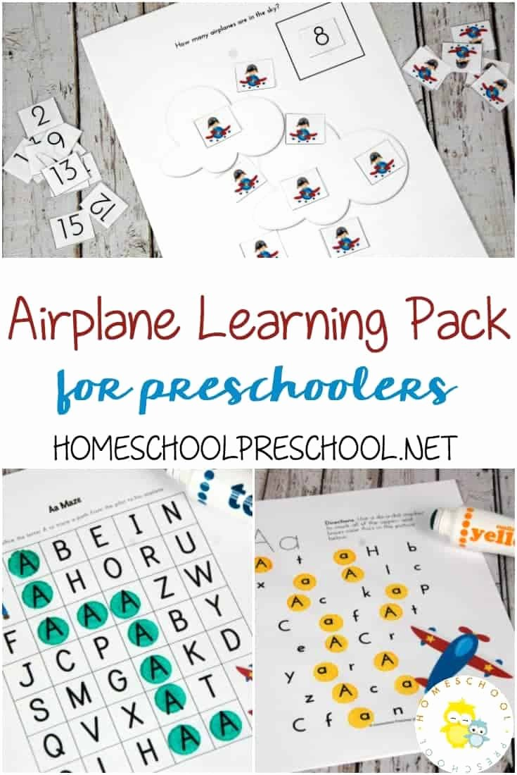 Airplane Worksheets for Preschoolers Awesome Printable Airplane Activities for Kids