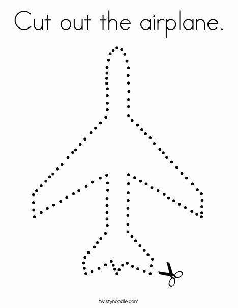 Airplane Worksheets for Preschoolers Lovely Pin On Cutting Practice