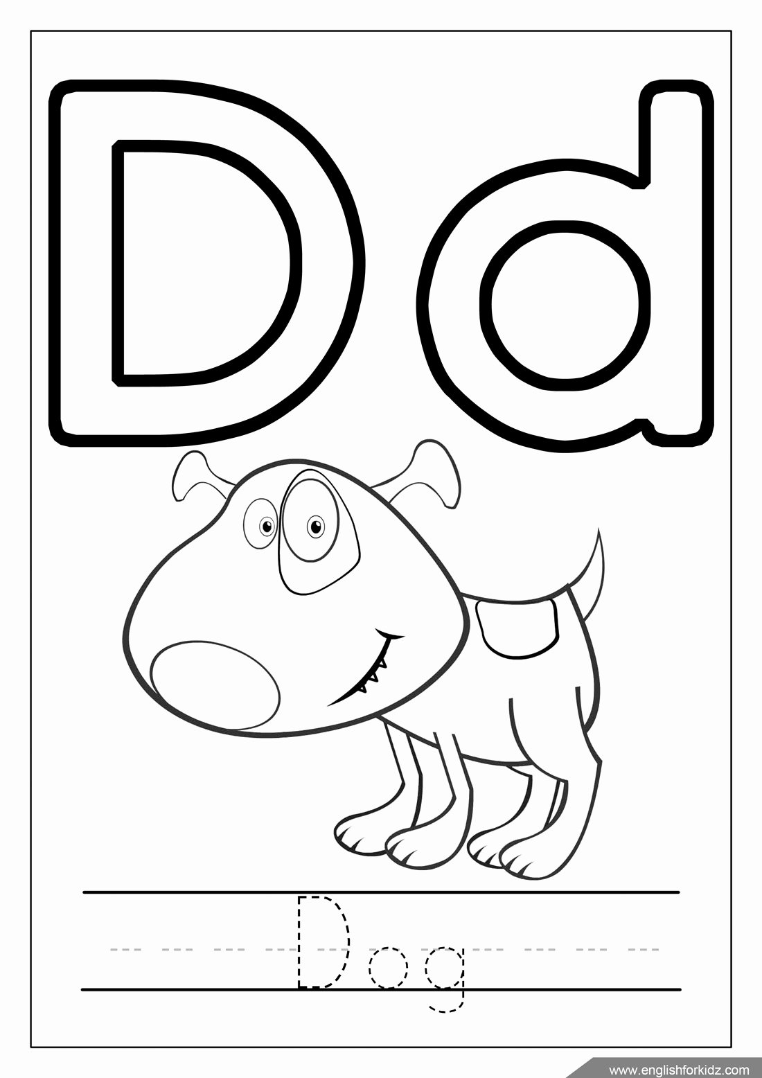 Alphabet Coloring Worksheets for Preschoolers Best Of Excelent Printable Alphabet Coloring Pages