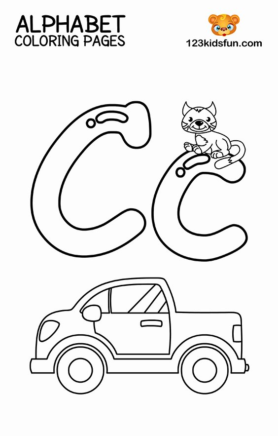 Alphabet Coloring Worksheets for Preschoolers Inspirational Free Printable Alphabet Coloring Pages for Kids