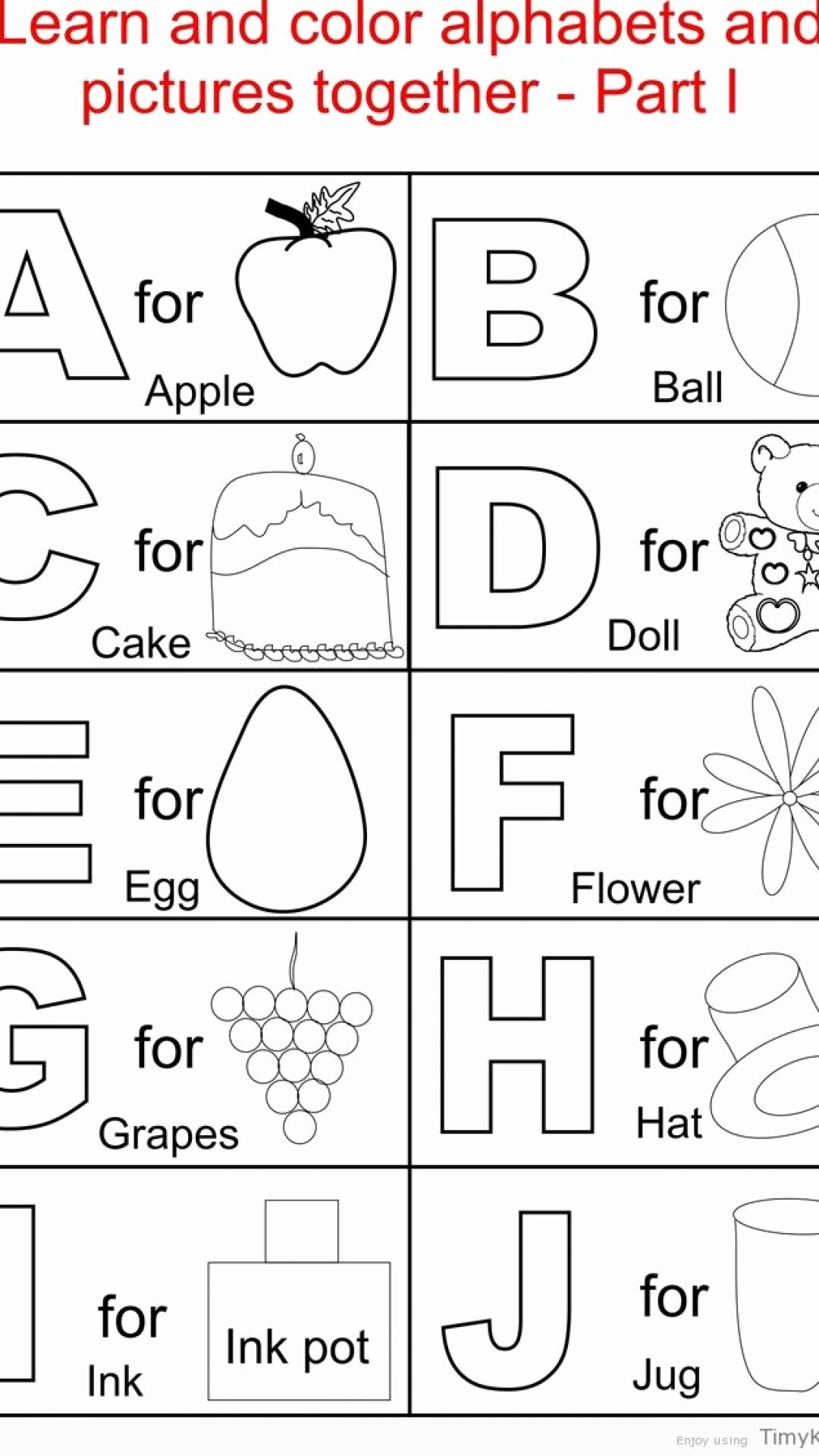 Alphabet Coloring Worksheets for Preschoolers top Alphabet Coloring Pages for toddlers Beautiful Pdf