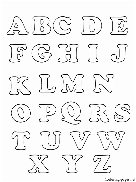 Alphabet Coloring Worksheets for Preschoolers top Alphabet Coloring Pages Whitesbelfast