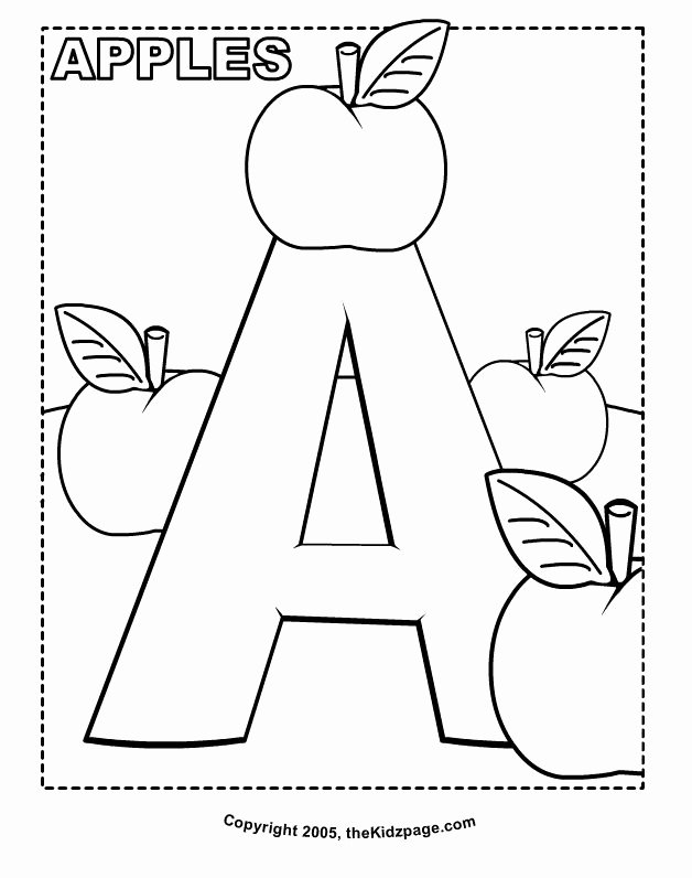Alphabet Coloring Worksheets for Preschoolers Unique 33 Awesome Printable Letter Coloring Pages – Azspring