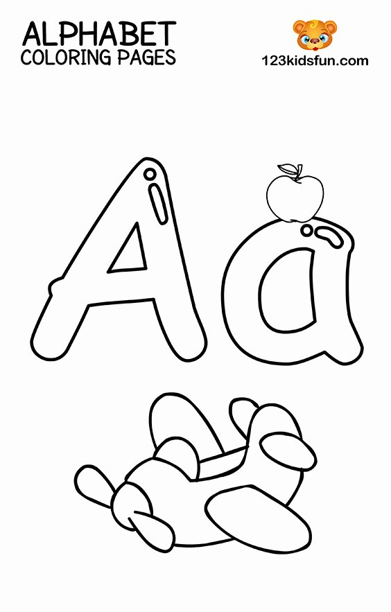 Alphabet Colouring Worksheets for Preschoolers Best Of Free Printable Alphabet Coloring Pages for Kids
