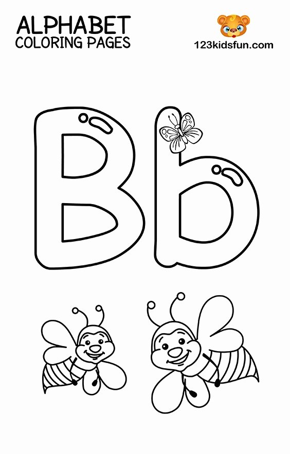 Alphabet Colouring Worksheets for Preschoolers Unique Coloring Books Alphabet Coloring Pages for toddlers