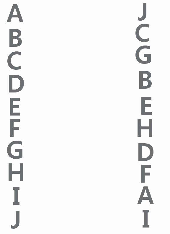 Alphabet Matching Worksheets for Preschoolers New Letters A J Match Up Worksheet
