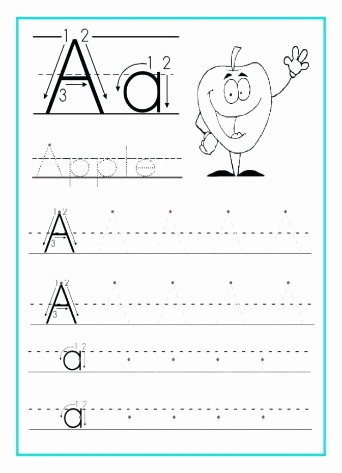 Alphabet Printable Worksheets for Preschoolers Unique Coloring Pages 50 Alphabet Worksheet for Kindergarten
