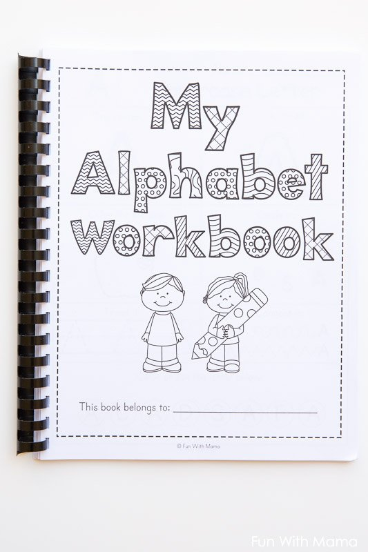 Alphabet Worksheets for Preschoolers Beautiful Printable Alphabet Worksheets to Turn Into A Workbook Fun