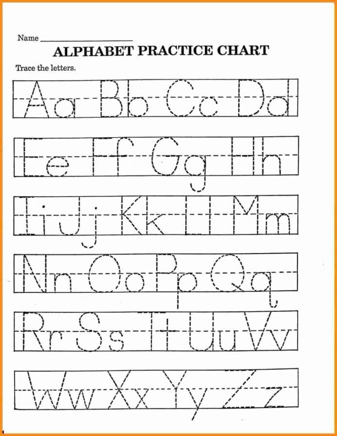 Alphabet Worksheets for Preschoolers Printable Beautiful Alphabet Worksheets Preschool Free In Printable for Pre