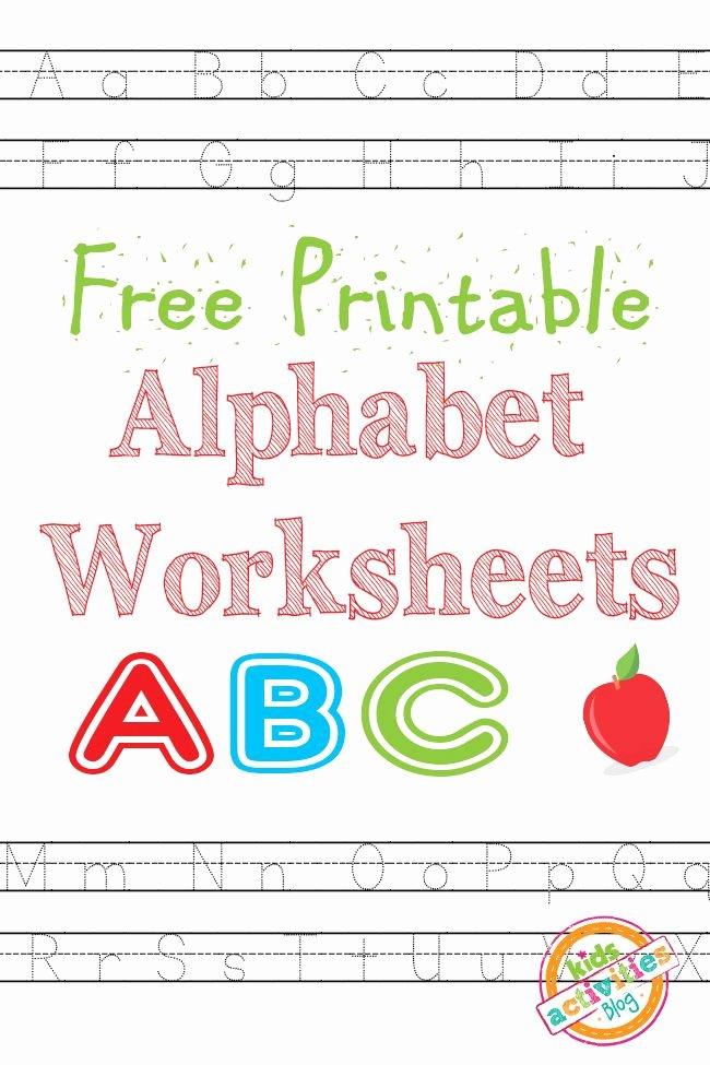 Alphabet Worksheets for Preschoolers Printable Fresh Free Printables Free Homeschool Deals © Part 2