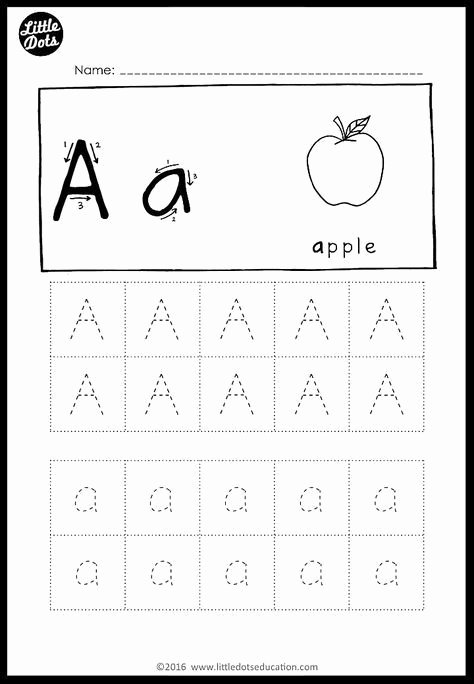 Alphabet Worksheets for Preschoolers Tracing Awesome Alphabet Tracing Activities for Letter A to Z