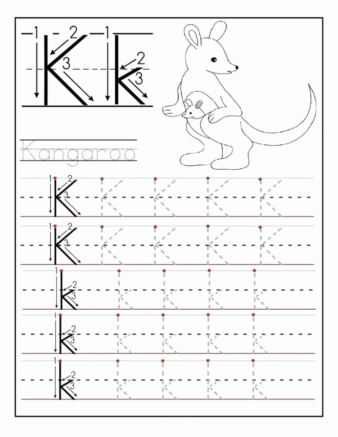 Alphabet Worksheets for Preschoolers Tracing New Letter Worksheets for Preschool and Kindergarten Tracing