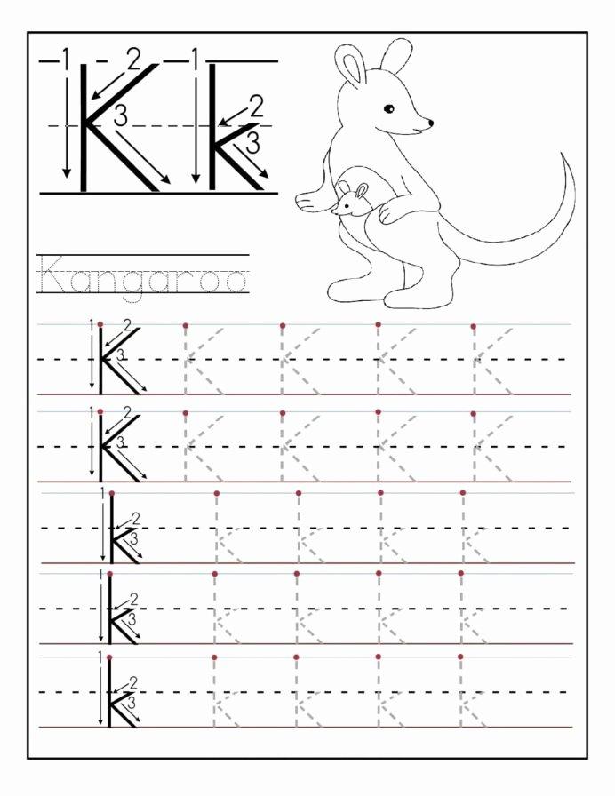 Alphabet Worksheets for Preschoolers Tracing New Letter Worksheets for Preschool and Kindergarten Tracing