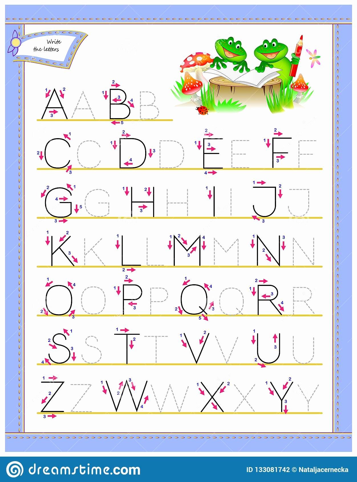 Alphabet Worksheets for Preschoolers Tracing New Math Worksheet Alphabet Worksheets Kindergarten Writing