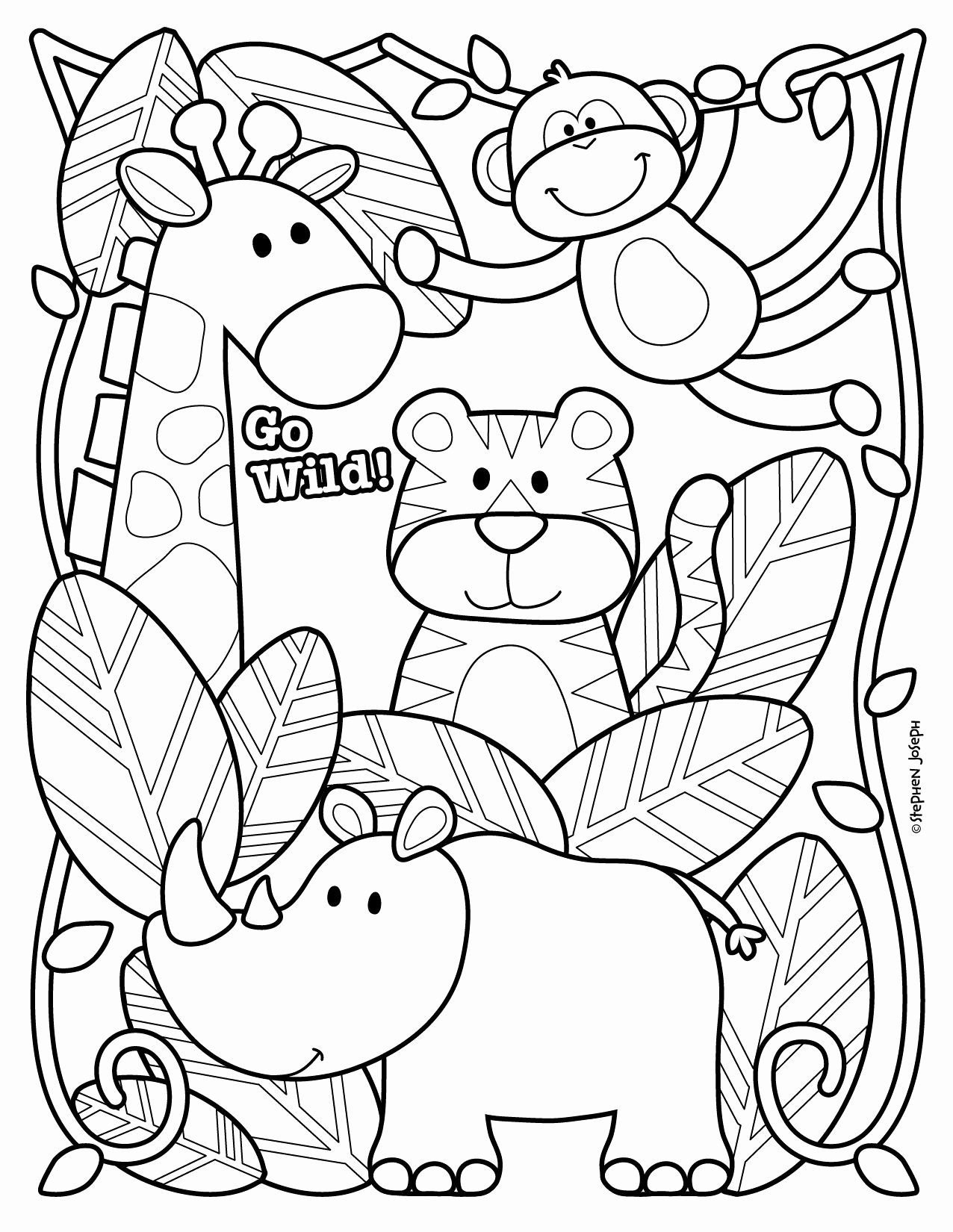Animal Worksheets for Preschoolers Awesome Coloring Best Printable Zoo Animal with forolers Baby