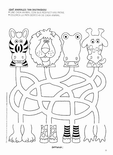 Animal Worksheets for Preschoolers Beautiful Free Printable Animal Worksheet for Kids