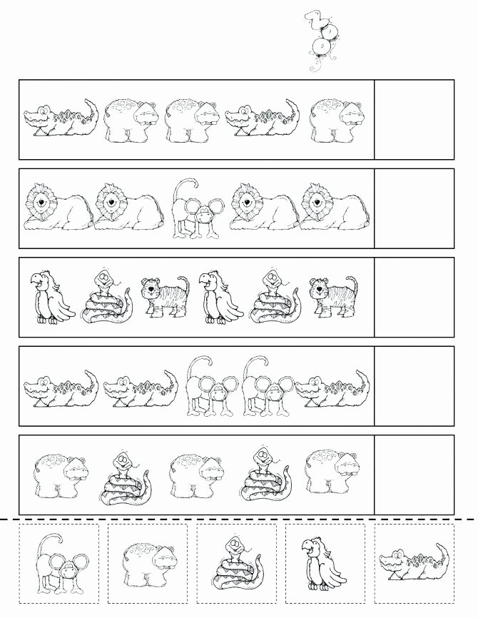 Animal Worksheets for Preschoolers Lovely Pets Worksheets for Preschool Leter Zoo Animals Kindergarten