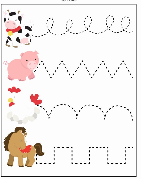 Animal Worksheets for Preschoolers Unique Farm Animal Printables for Preschool