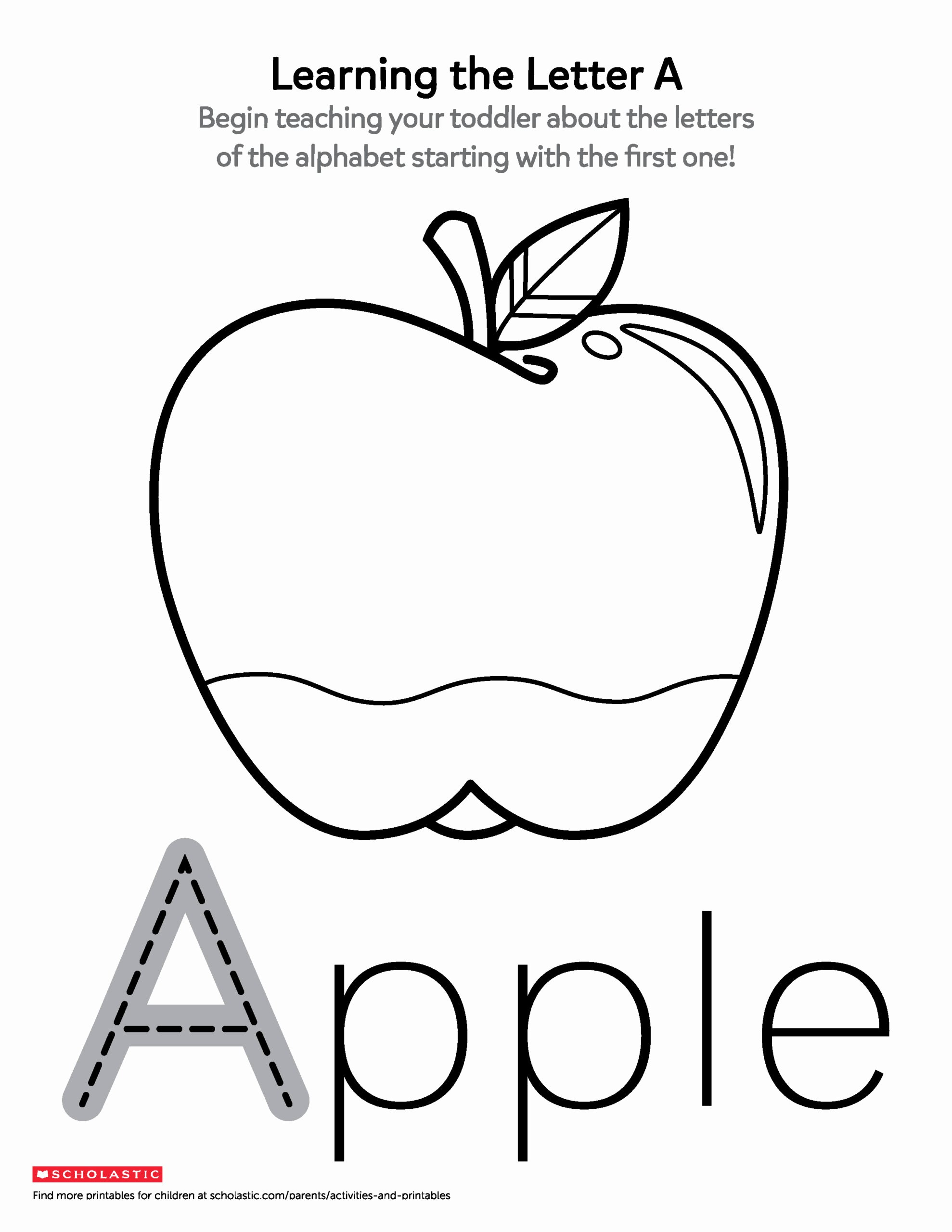 Apple Worksheets for Preschoolers New Printables for Ages Scholastic Parents Worksheets toddlers