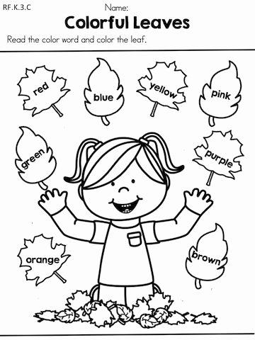 Art Worksheets for Preschoolers top Halfoff2020 Fall Literacy Worksheets No Prep Distance