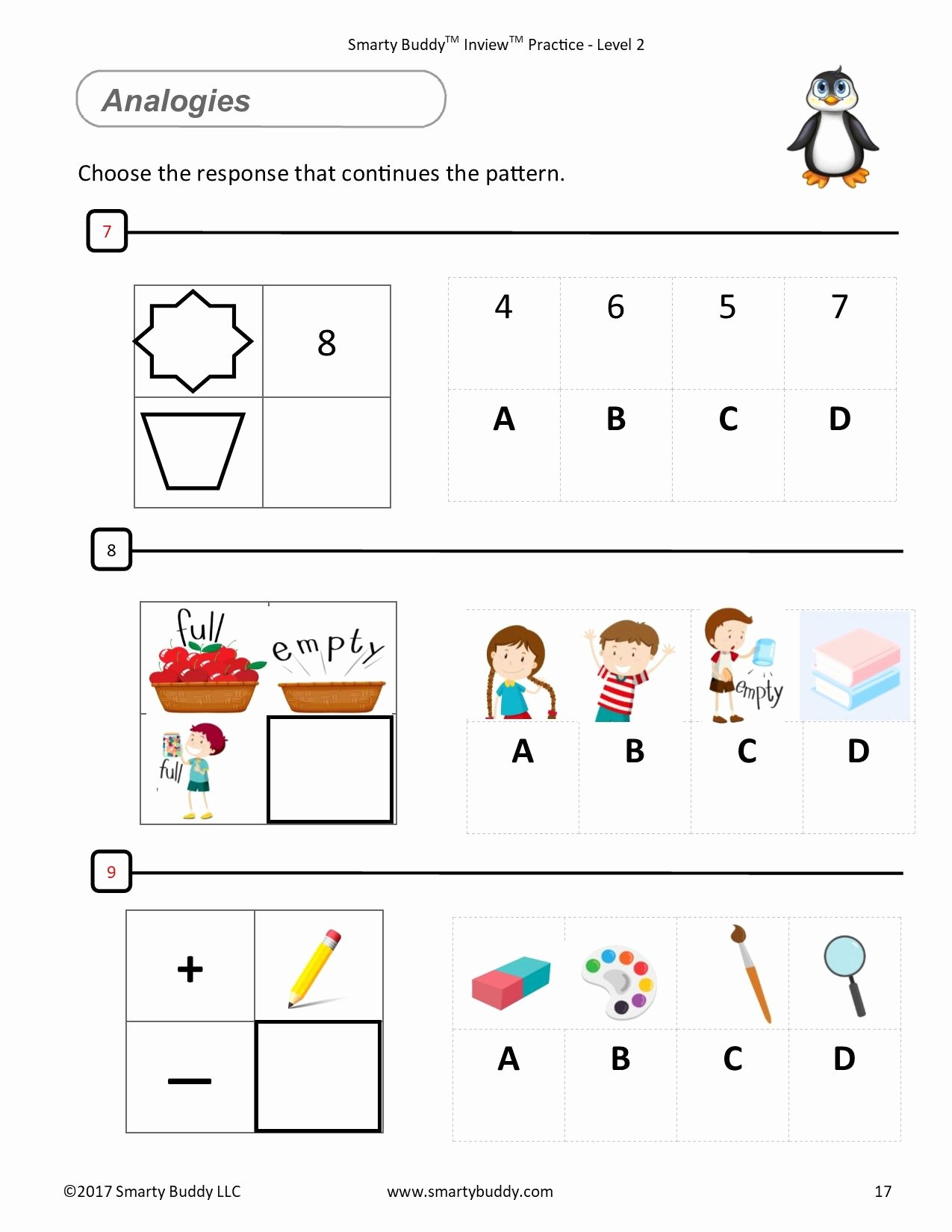 Association Worksheets for Preschoolers Best Of Smarty Buddy Logic Gifted and Talented Kids Worksheets