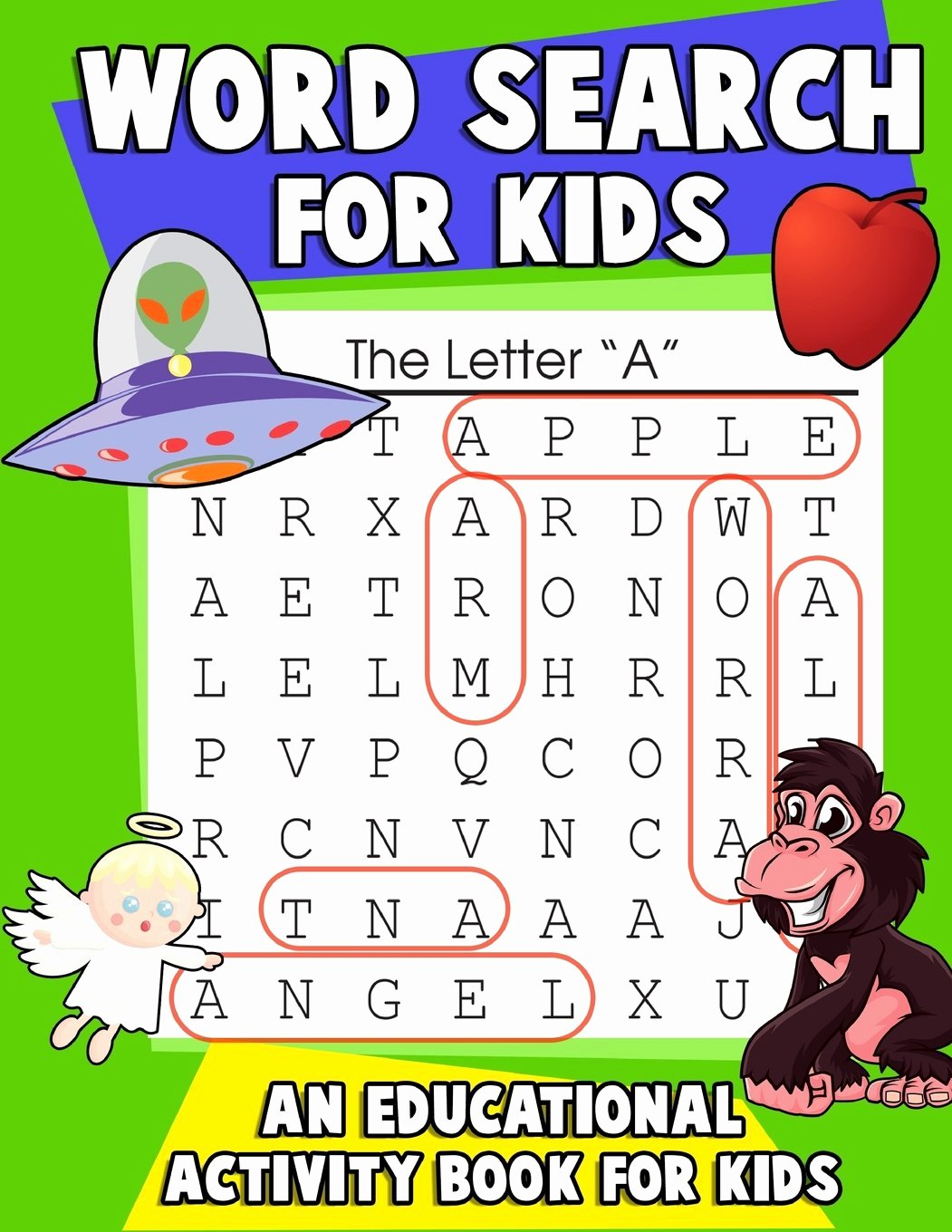 Association Worksheets for Preschoolers Unique Word Search for Kids An Educational Activity Book for Kids