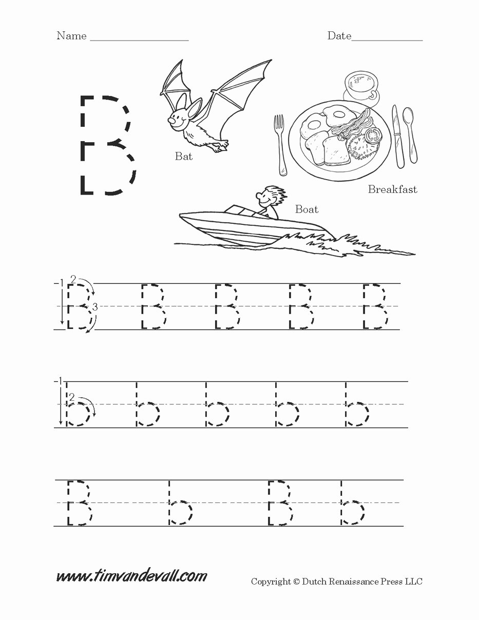 B Worksheets for Preschoolers New Worksheet Worksheet Ideas Letter Printableheets Free for