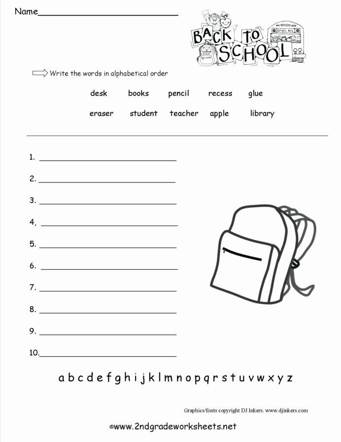 Back to School Worksheets for Preschoolers Best Of Free Back to School Printables Work Printable Worksheets