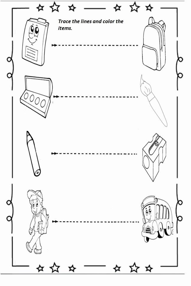 Back to School Worksheets for Preschoolers top Free Printable Back to School Worksheet for Preschoolers
