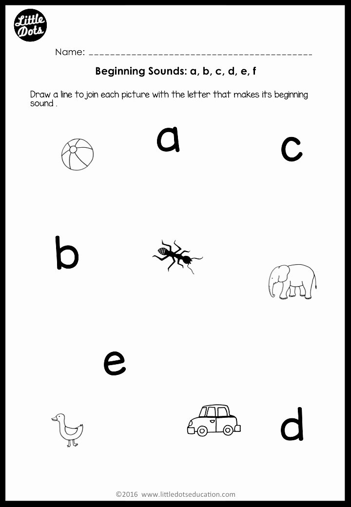 Beginning sounds Worksheets for Preschoolers Fresh Beginning sounds Worksheets and Activities