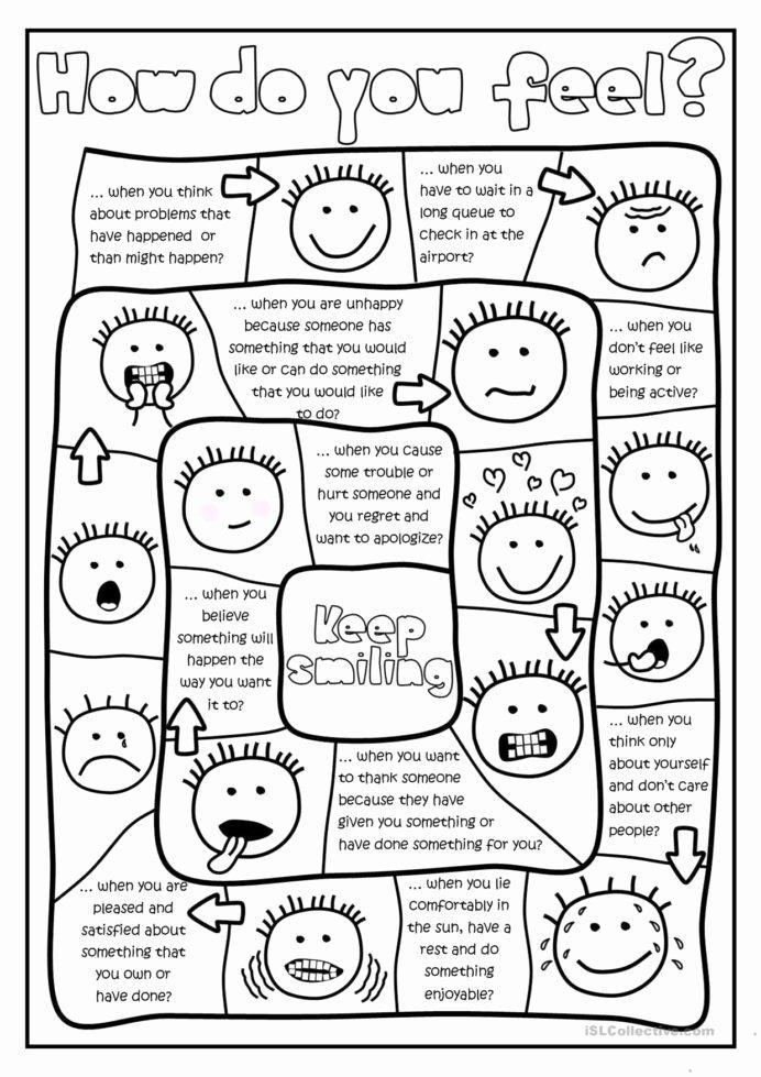 Behavior Worksheets for Preschoolers Fresh Free Printables and Activities Feelings Emotions Behavior