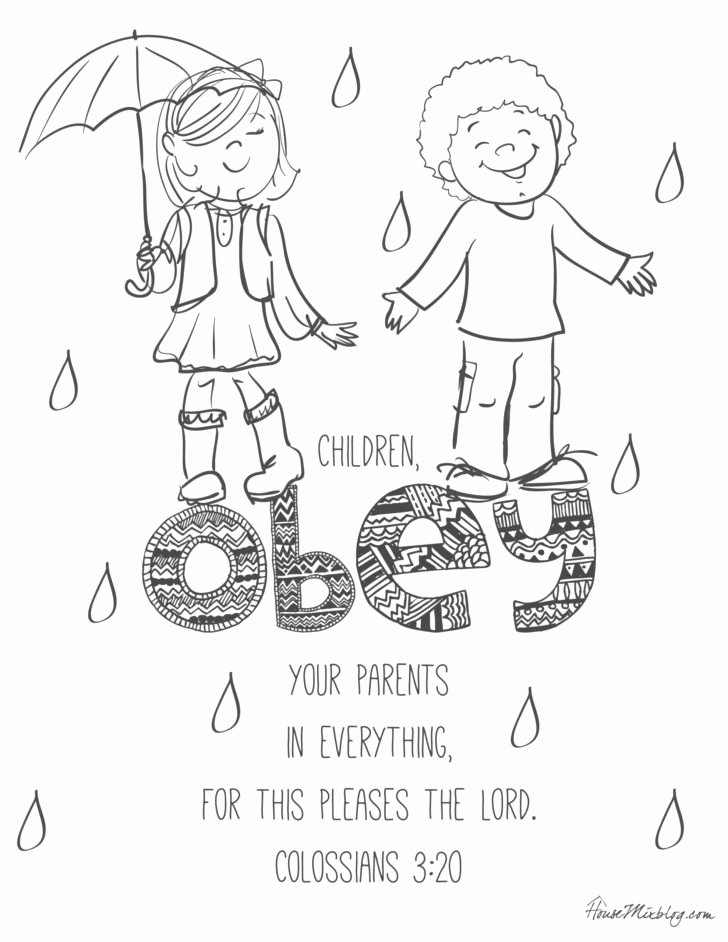 Bible Worksheets for Preschoolers New Coloring Bible Verses to Teach Kids with Printables Color