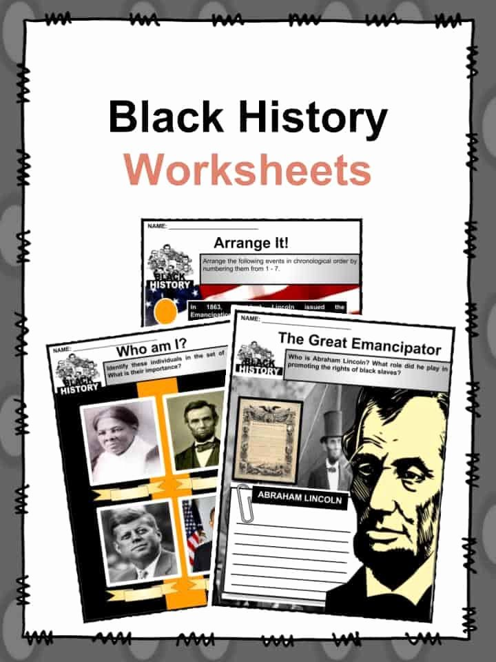 Black History Worksheets for Preschoolers Awesome Black History Facts & Worksheets