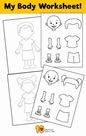 Body Parts Printable Worksheets for Preschoolers Beautiful Pin On Ihmiset