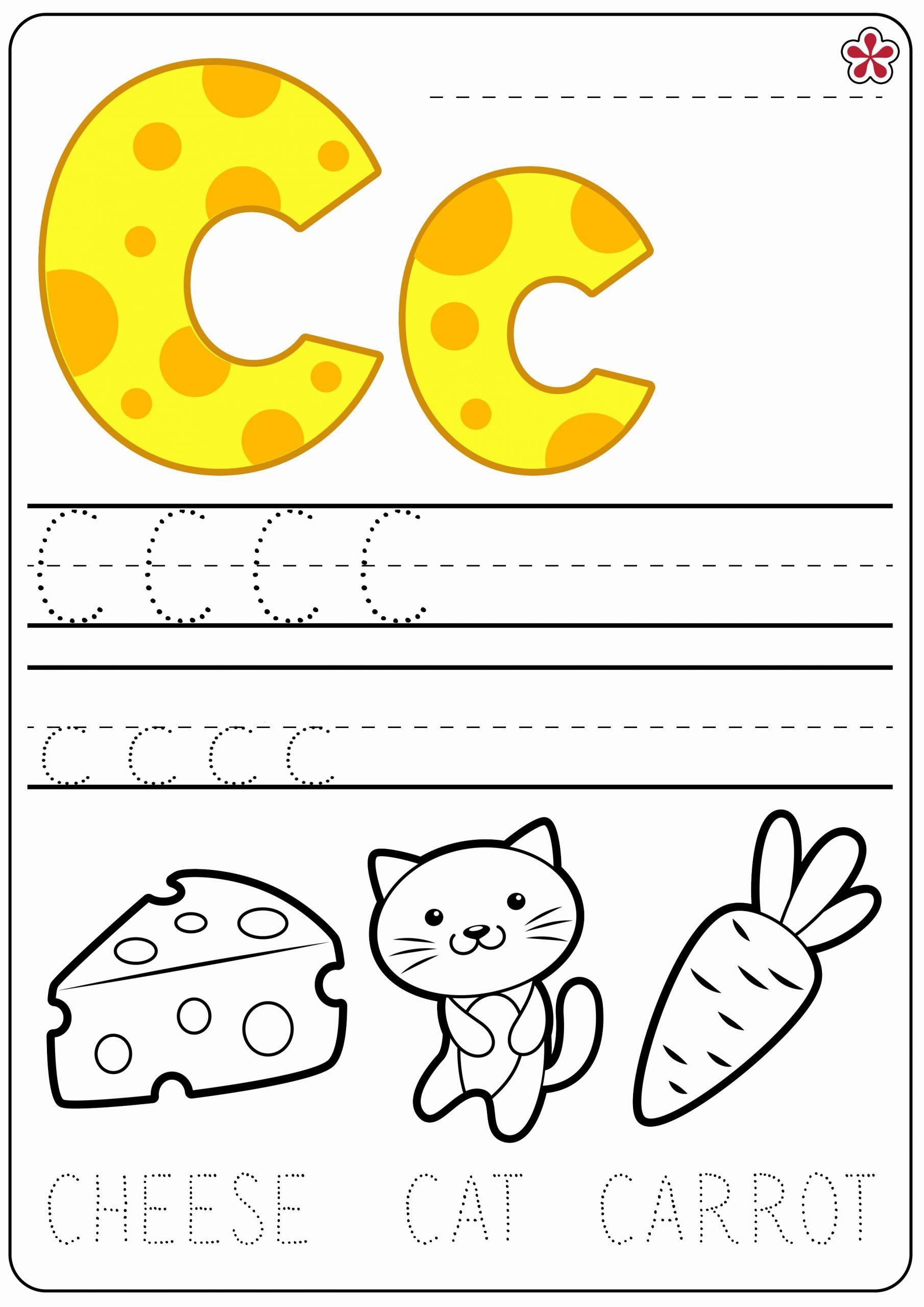 C Worksheets for Preschoolers Awesome Letter C Worksheets Teachersmag