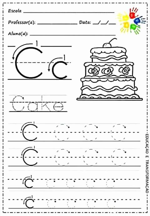 C Worksheets for Preschoolers top Pin by Angela On Desenvolvimento Infantil