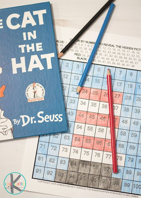 Cat In the Hat Worksheets for Preschoolers Unique Free Cat In the Hat Math