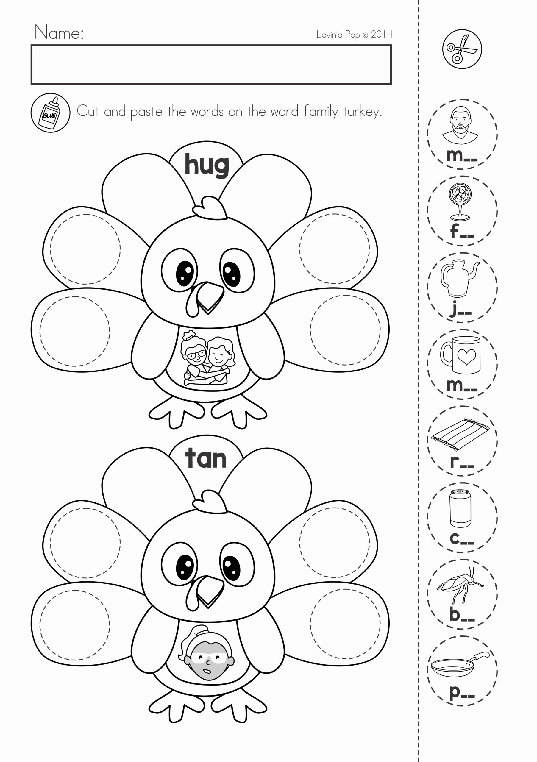 Chess Worksheets for Preschoolers New Thanksgiving Math Literacy Worksheets and Activities