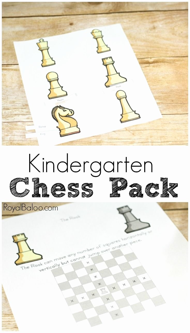 Chess Worksheets for Preschoolers Unique Introduction to Chess Pieces and Movements Want to Learn