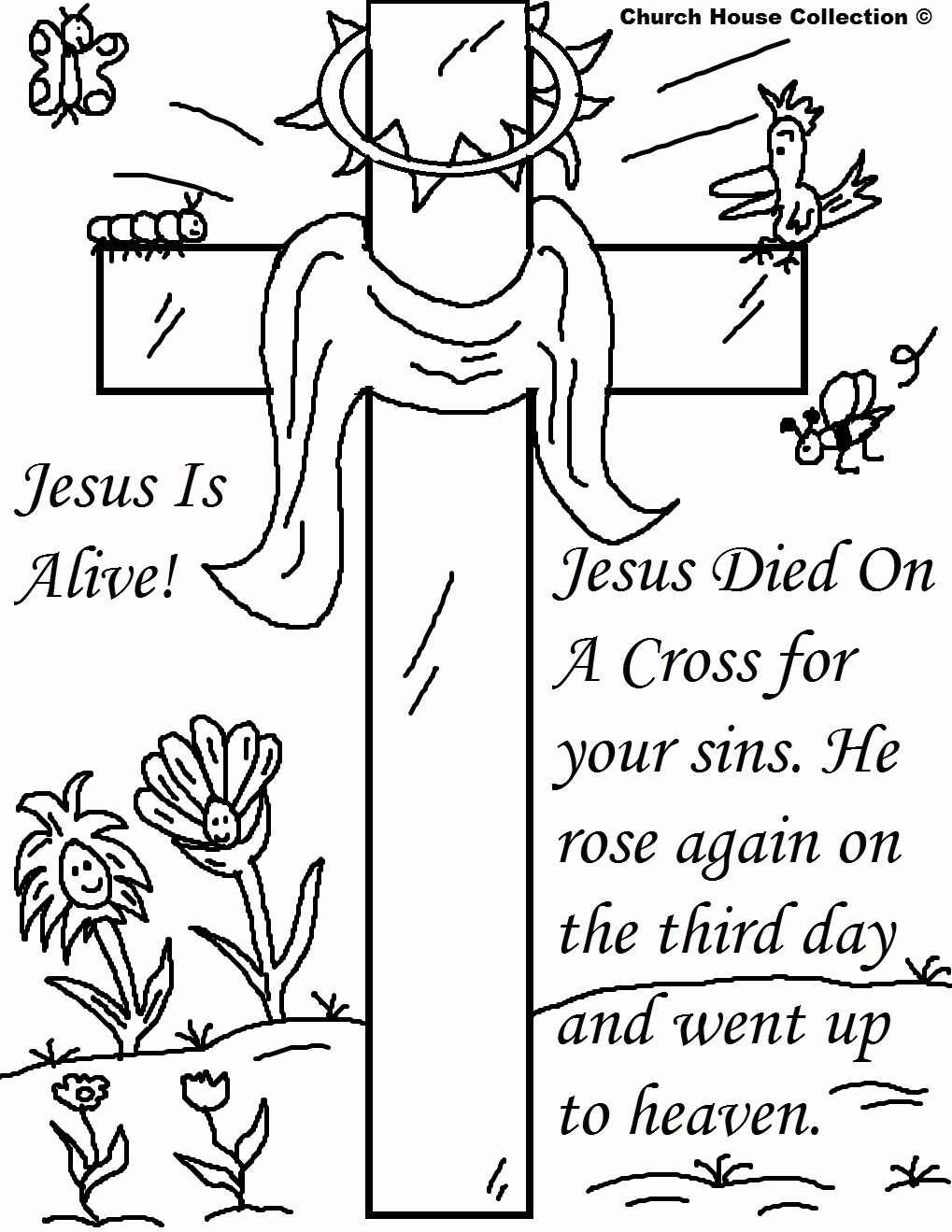 Christian Easter Worksheets for Preschoolers Inspirational Religious Easter Coloring Free Activity Printables Catholic