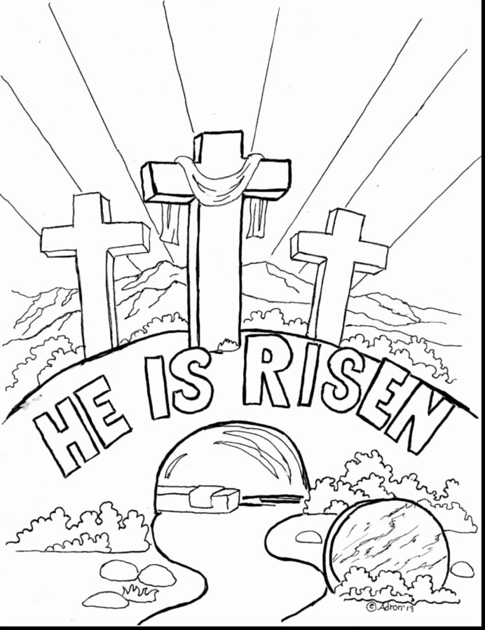 Christian Easter Worksheets for Preschoolers top Free Printable Coloring Pages for Christian Easter Coloring