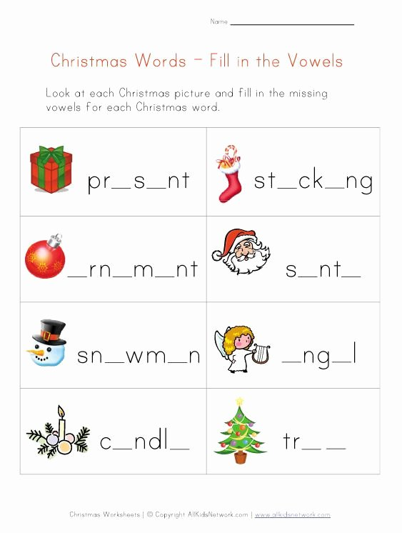 Christmas Alphabet Worksheets for Preschoolers New Christmas Worksheets for Kids
