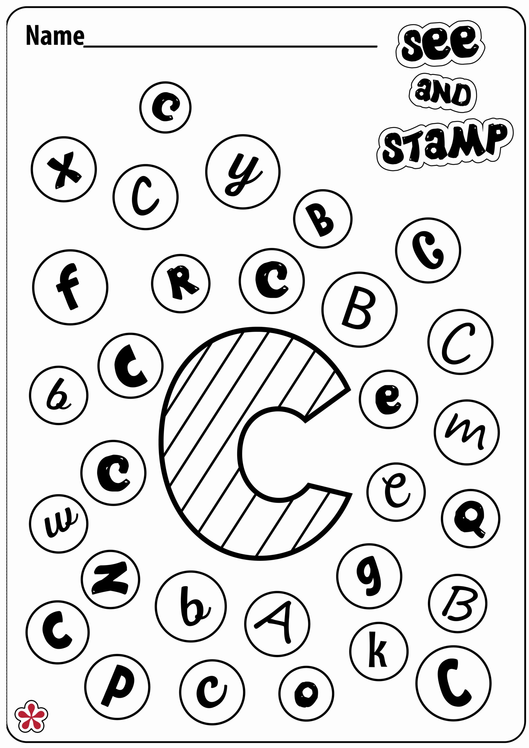 Christmas Alphabet Worksheets for Preschoolers New Worksheet at Worksheets for Kindergarten Spring Mathksheet