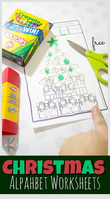 Christmas Alphabet Worksheets for Preschoolers Unique Free Christmas Alphabet Worksheets