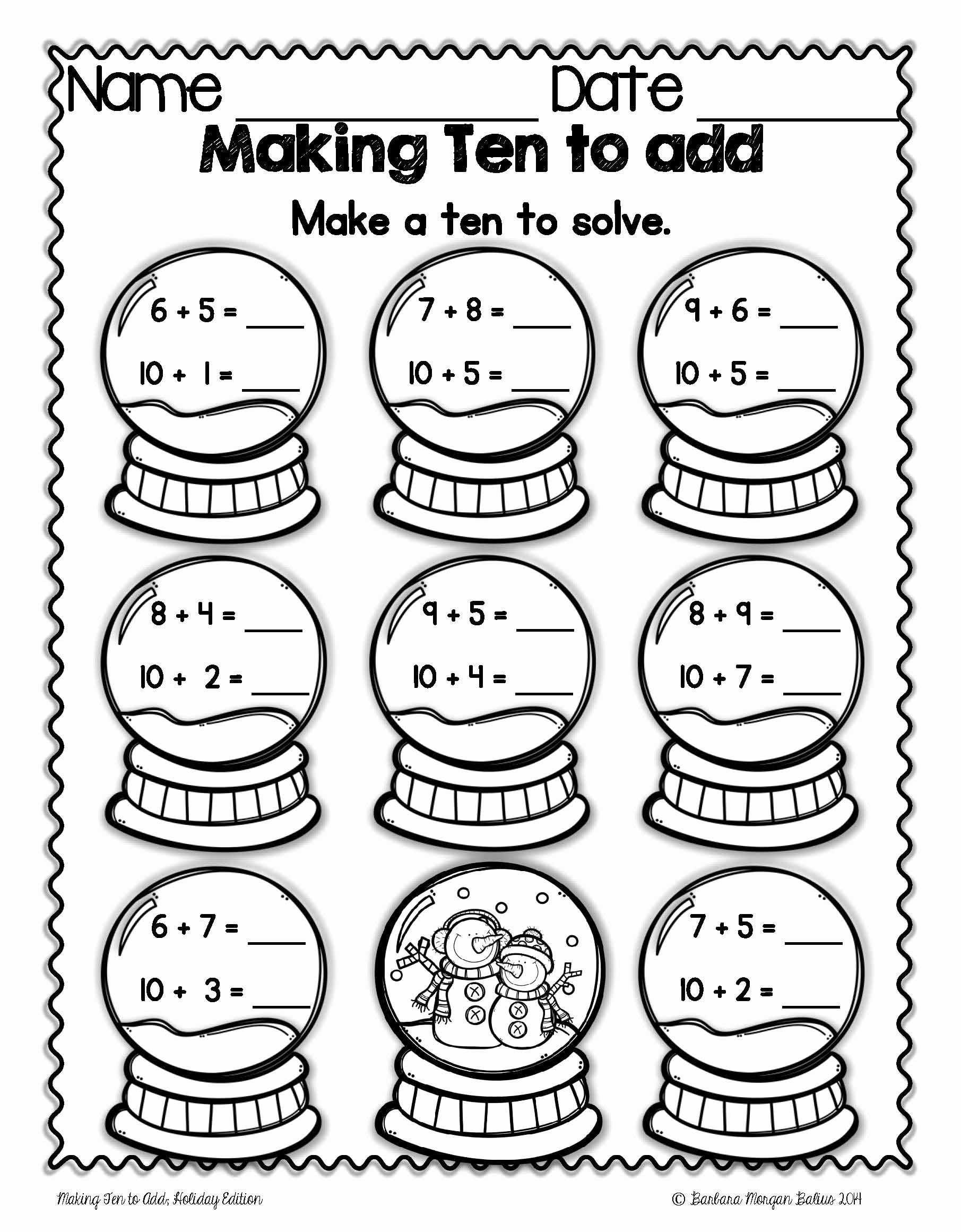 Christmas Number Worksheets for Preschoolers Fresh Worksheets Worksheets Puzzle Time Math Second Grade
