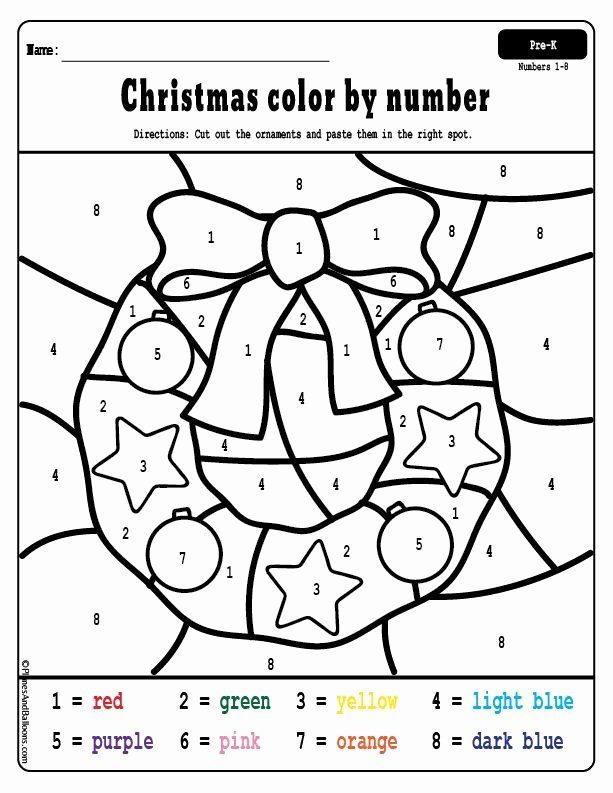 Christmas Number Worksheets for Preschoolers Inspirational Free Printable Christmas Worksheets for Preschoolers Holiday